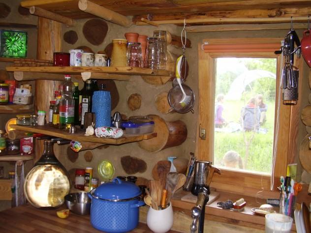 Kedvenc ház belülről - konyhafal